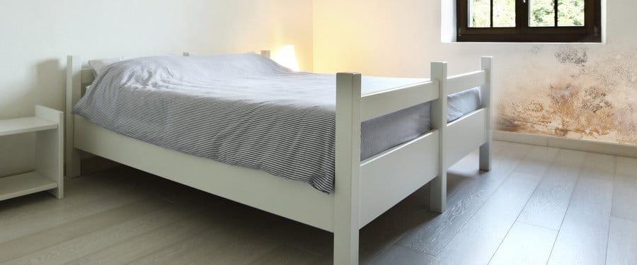 Vochtige slaapkamer ongezond