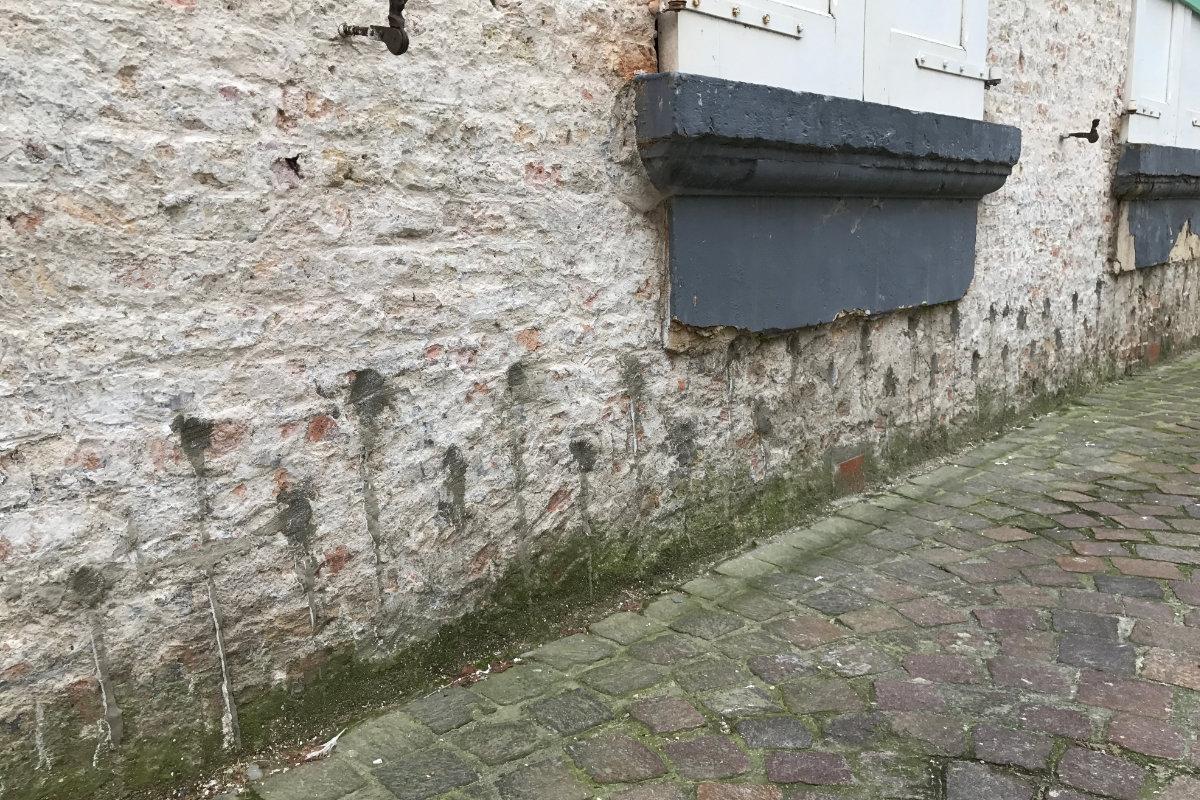 injecteren muren