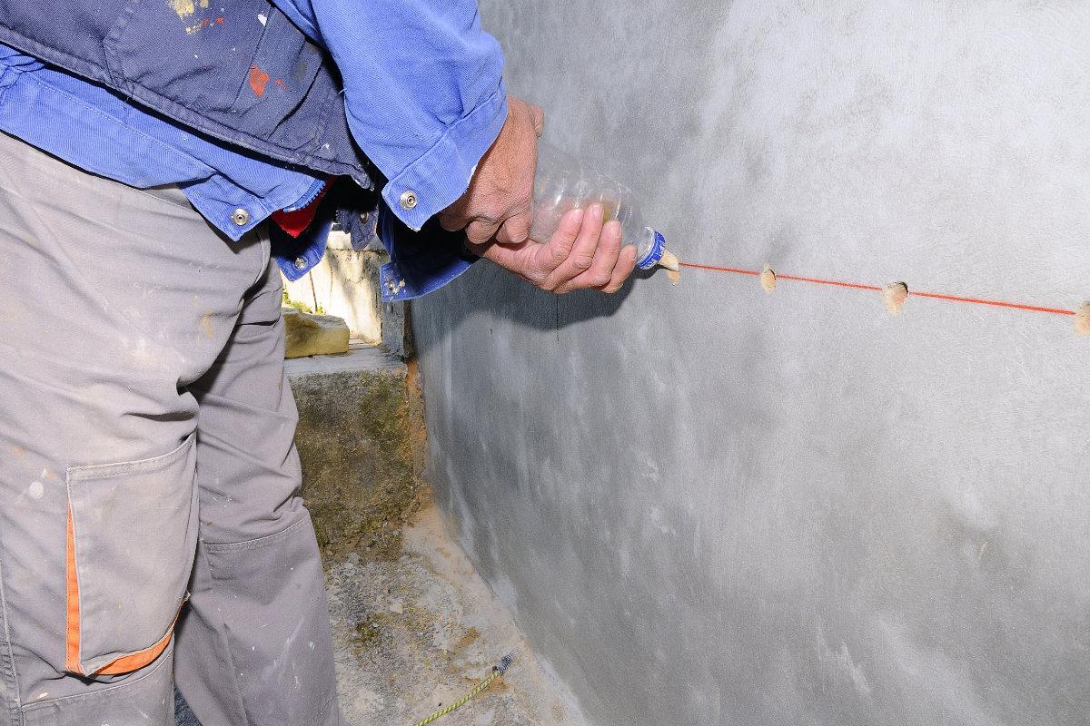 muur injecteren tegen opstijgend vocht