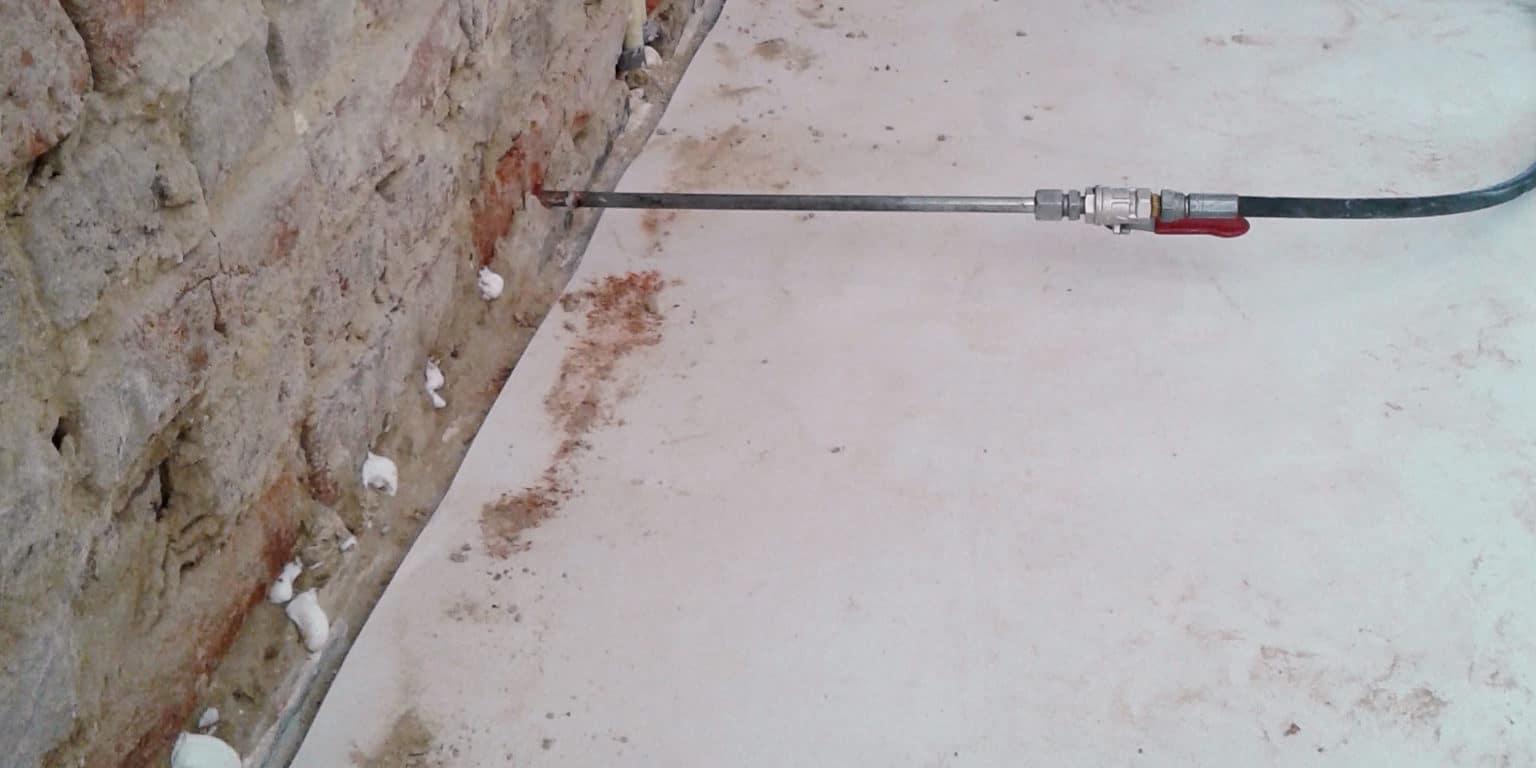 vochtbestrijding muur injecteren
