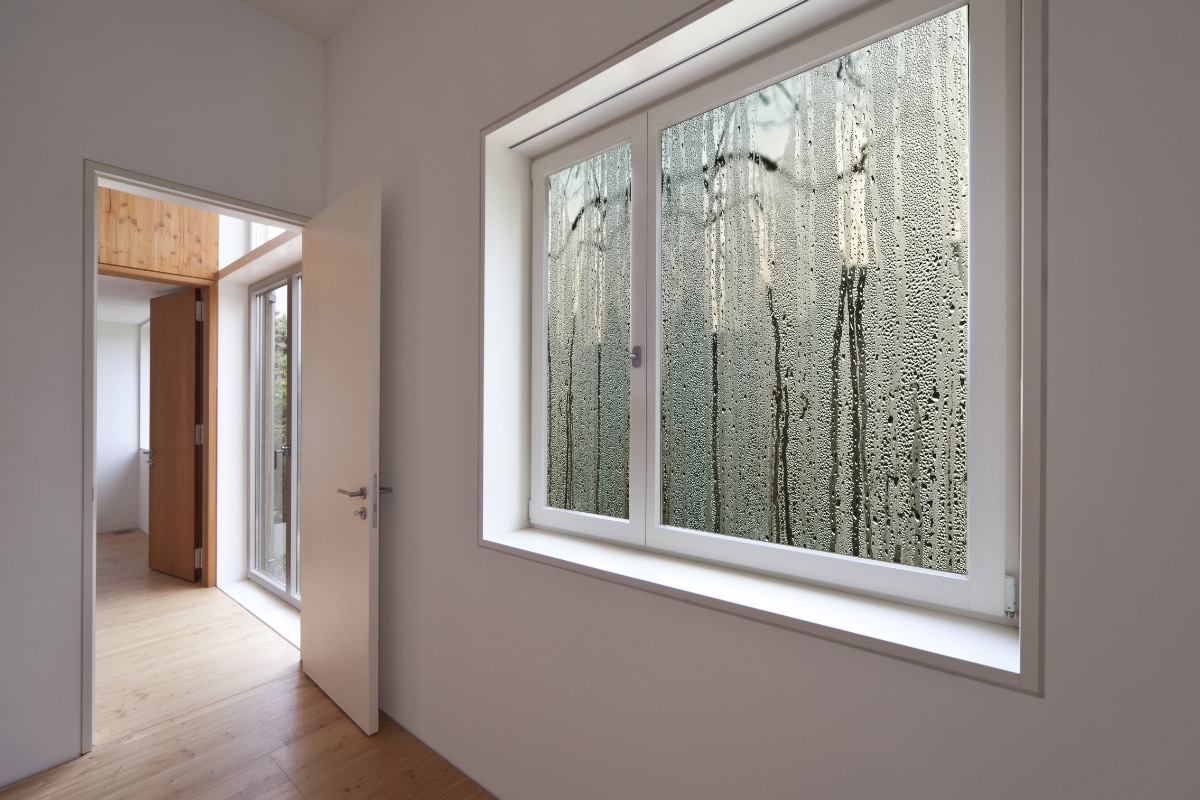 vochtigheidsgraad in huis op ramen